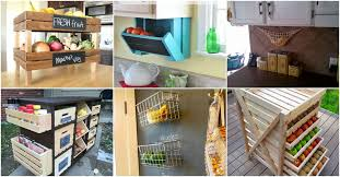 vegetable storage kitchen cabinets 20 creative diy produce storage solutions to keep fruits and