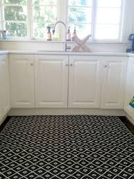 decorating stunning big kitchen rugs diamond shaped in white and