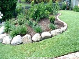 Rocks For Garden Edging River Rock Landscape Edging Rocks For Garden Landscape Rocks For