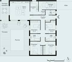 maison avec 4 chambres 28 plan maison plain pied avec garage décoration de maison