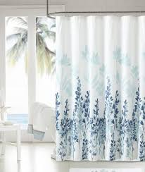 bathroom amazing blue and white shabby chic shower curtain bella