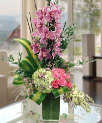 Flowers Delivered With Vase Best Florist In Marietta Ga Carithers Flowers