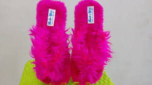 Womens Bedroom Slippers Pink Soft Fur Womens Fancy Bedroom Slippers Youtube