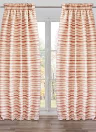 Winnie The Pooh Nursery Curtains by Unique Curtains Colorful Print Horizontal Striped Burlap Long