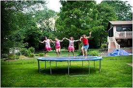 Best Backyard Trampoline by Backyard Trampolines Design And Ideas Of House