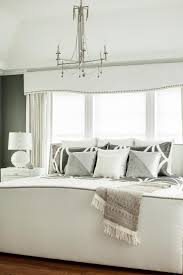 Gray Paint White Trim Bedroom by Chic Gray And White Master Bedroom With Custom Details Karen