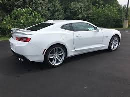 white chevy camaro 2017 chevrolet camaro ss for sale effingham il 6 2l v8 8