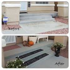 our front porch concrete repair walkways porches and concrete
