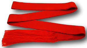 Red Sash Traditional Gymslip Sash Available In A Range Of Colours