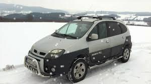 renault scenic 2002 scenic rx4 snow drift wiejski drift 2013 part ii youtube