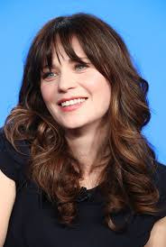 lob haircut pictures see zooey deschanel s lob haircut instyle co uk