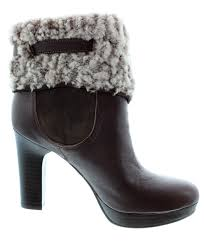 ugg s anais shoes chestnut ugg high ankle boots in java