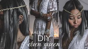Elf Halloween Costume Diy Halloween Costume Elf Queen Elven Ears Twisted