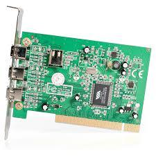 amazon com startech com 4 port pci 1394a firewire adapter card