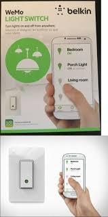 Belkin Wemo Light Switch Lanbon Wifi Module Control 3gang Lamp Touch Switch Smart Home