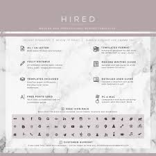 Free Creative Resume Templates For Mac Creative Resume Template Archives Hired Design Studio