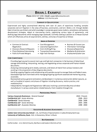 Bar Resume Examples by Resume Samples Types Of Resume Formats Examples And Templates