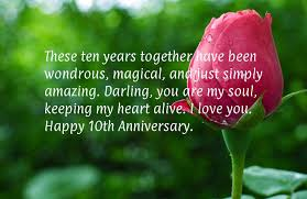 10th year wedding anniversary 10th year marriage anniversary wishes quotes wallpaper images