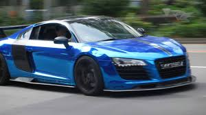 kereta audi wallpaper chrome blue r8 accelerates from stop light vrvbytes 8 youtube