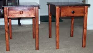 How To Build A End Table With Drawer by These Free End Table Plans Include How To Build A Kreg Drawer