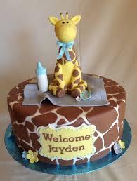 giraffe baby shower cake ideas zone romande decoration