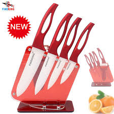 couteau cuisine ceramique findking beauté cadeaux zircon poignée couteau en céramique