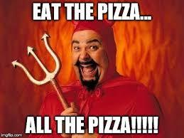 Pizza Delivery Meme - pizza devil imgflip