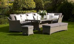bramblecrest garden furniture fullerton large modular sofa with