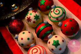 ornament cupcakes happy holidays