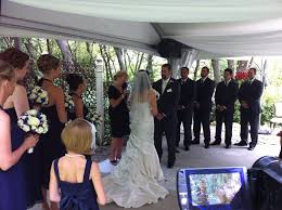 ceremony sound wedding dj and photo booth rental