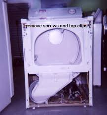 how to take apart a maytag dryer appliance aid