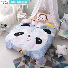 Princess Duvet Cover China Panda Monkey Bedding Sets Twin Sizes 100 Cotton Princess