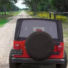 tire cover jeep wrangler jeep wrangler spare tire cover in black sailcloth