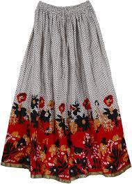 cotton skirt black polka summer cotton skirt clothing