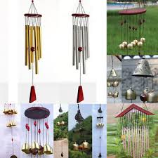 10 types wind chimes bells copper outdoor yard garden home