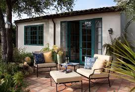mediterranean furniture style patio mediterranean with coushins