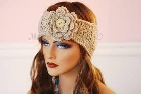 crochet ear warmer headband glama s 2 in 1 headband earwarmer