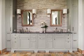 barbara barry mirror bathroom rustic with wall sconces traditional