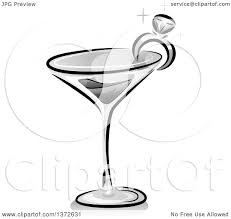cocktail drawing cocktail clipart wine glass pencil and in color cocktail clipart