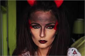 devil makeup look halloween 2014 bonjourlovelies com