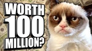 Rich Cat Meme - owners of internet sensation grumpy cat win damages after