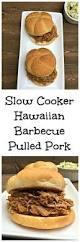 slow cooker hawaiian barbecue pulled pork