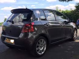 toyota yaris sr 1 4 diesel manual sat nav rare top of the