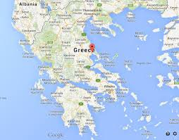 volos map volos on map of greece world easy guides