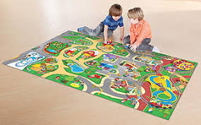 Childrens Play Rug Fisher Price Wheelies Playmat Toys