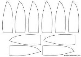 turkey feather template craft image mag