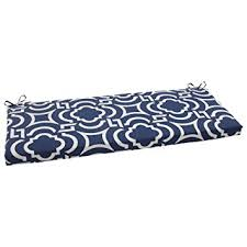 Indoor Bench Cushion Covers Amazon Com Pillow Perfect Indoor Outdoor Carmody Bench Cushion