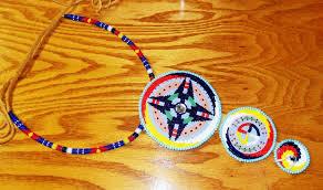 beaded medallion necklace images Bead work 1 http tatankascedarboxes jpg