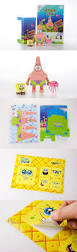 momot spongebob paper craft cut outs origami collectible paper toy
