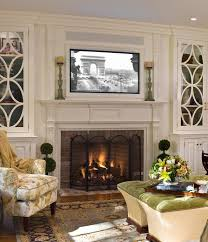 Decorations Tv Over Fireplace Ideas by Placing A Tv Over Your Fireplace A Do Or A Don U0027t Tvs Living